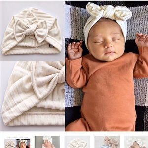 0-3 month baby turban